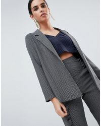 Love Tailored Blazer - Gray
