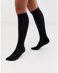 ASOS Knee High Socks - Black