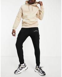 The Couture Club Joggers s estilo cargo - Negro