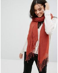 ONLY - Oversized Scarf - Lyst