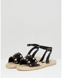 Miss Selfridge - Pu Espadrille - Lyst