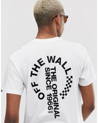 b08c45db Distort T-shirt With Back Print In White