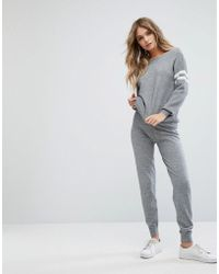 River Island | Knitted Joggers | Lyst