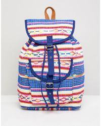 Pieces - Festival Backpack - Lyst