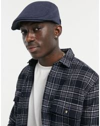 Ted Baker Witham Flat Cap - Blue