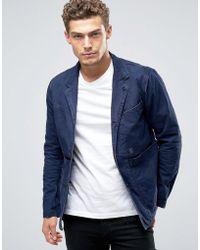 G-Star RAW Bronson Worker Blazer - Blue