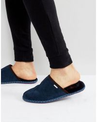 Ted Baker - Youngi Slip On Mule Slippers - Lyst