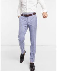 ASOS Wedding Skinny Suit Trousers - Blue