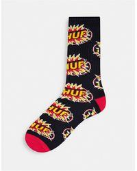 Huf Tnt Logo Socks - Black