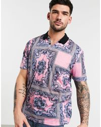 ASOS Relaxed Polo - Pink
