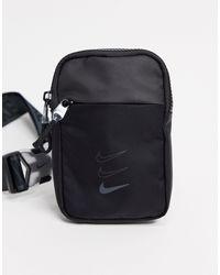 Nike Черная Сумка Через Плечо Advance-черный