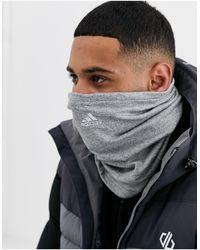 adidas Originals Серая Согревающая Повязка На Шею Adidas-серый