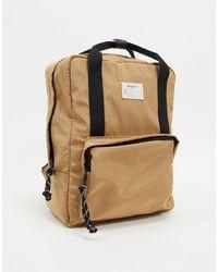 Stradivarius – Mini-Backpack - Natur
