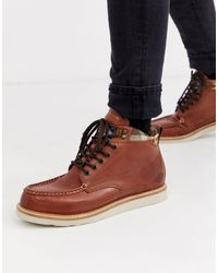 Superdry Mountain Range Boots - Brown