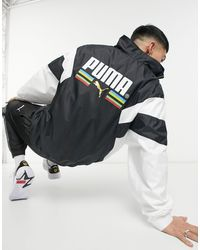 PUMA Train For Sport Woven Track Jacket - Black