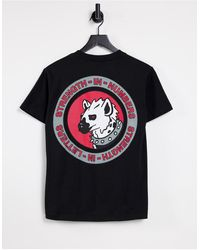 The Hundreds Strength Back Print T-shirt - Black