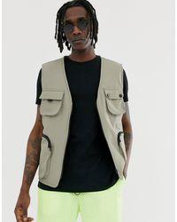 Mennace Utility Vest - Multicolour