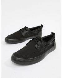ASOS Boat Shoes - Black