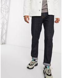 Nudie Jeans Steady Eddie Ii - Regular- Fit Smaltoelopende Jeans - Blauw