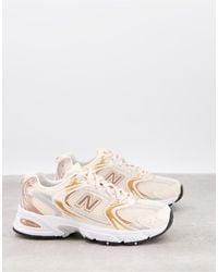 New Balance X-530 - Metallic Sneakers - Roze