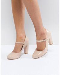 Miss Kg Block Point High Heels - Black