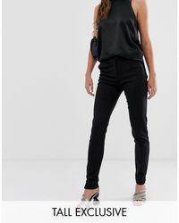 Y.A.S Pantalones pitillo capri s - Negro