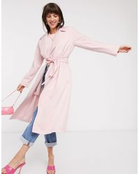 & Other Stories Belted Lightweight Trench Coat - Green