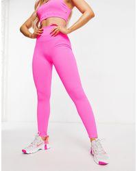 South Beach Soft Rib leggings - Pink