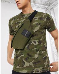 Calvin Klein Сумка-кошелек На Пояс -зеленый