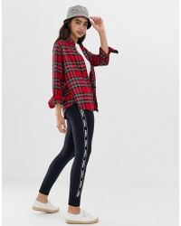 Hollister - Cozy Skinny Sweatpants With Logo Taping - Lyst