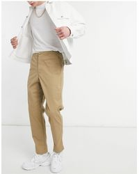 Polo Ralph Lauren Stretch Twill Prepster Flat Front Pants - Natural