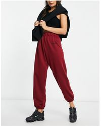New Girl Order High Waisted sweatpants - Red
