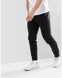 Hollister - Tapered Athleisure Slim Fit Joggers In Black - Lyst
