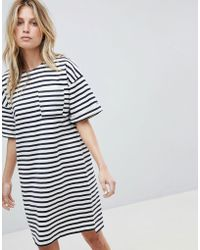 Whistles - Amaka Stripe Pocket Dress - Lyst
