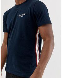 Shirt Abercrombie Homme Bleu T Marine uK3Tlc1J5F