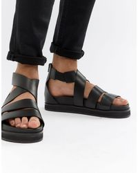 ASOS Gladiator Sandals - Black