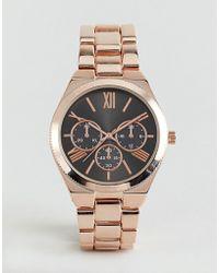 ALDO Gwosa Rose Gold Watch - Metallic