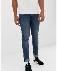 Cheap Monday - Tight Jeans In Steel Blue - Lyst