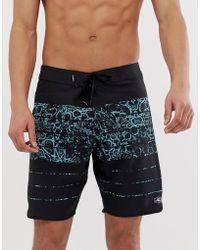 O'neill Sportswear Superfreak Kaleidostoke - Boardshort - Bleu/noir