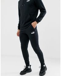 PUMA Essentials - Slim-fit joggingbroek - Zwart