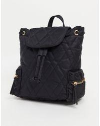 ASOS Black Backpack