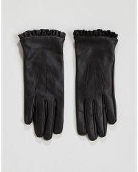 Oasis - Ruffle Glove - Lyst