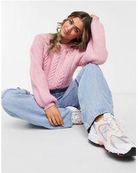 Jack Wills Jersey rosa con mangas