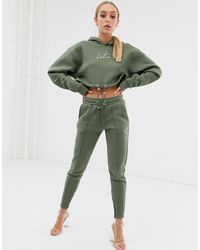 The Couture Club Jogger fuselé - Kaki - Vert