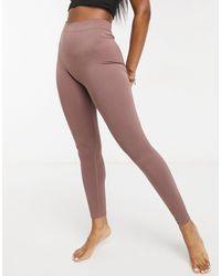 Weekday Celestia Yoga Seamless leggings - Brown