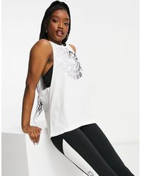 Reebok Rc Excellence Muscle Tank - White