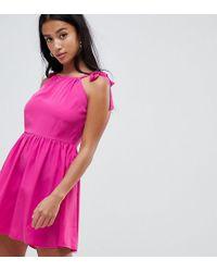 Vero Moda - Tie Shoulder Cami Dress - Lyst