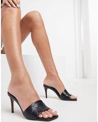 ALDO Acendan Heeled Sandal - Black