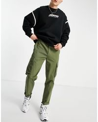 New Look Pantaloni cargo kaki - Verde