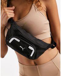 PUMA Черная Сумка-кошелек На Пояс Training-черный Цвет - Многоцветный